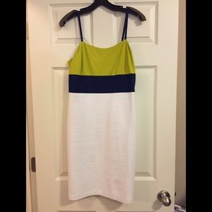 Banana Republic Color Block Ponte Dress